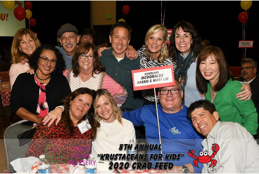 """8th Annual """"Krustaceans for kids"""" 2020 group photo"""