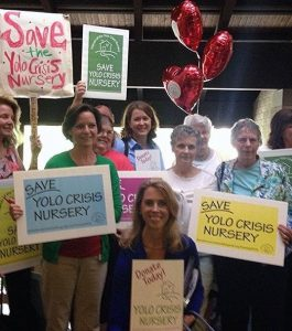 Heidy Kellison and Yolo Crisis Nursery Supporters in 2014